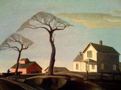 Dale Nichols (American, 1904-1995) - The Twins - 1946
