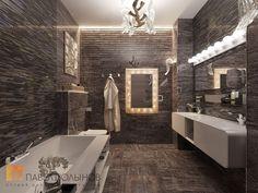 Ванная комната, стиль минимализм, ЖК Duderhof Club