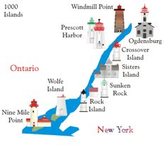 1000 Islands Lighthouses