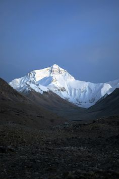 Mount Everest - Have to catch a glimpse, at least.