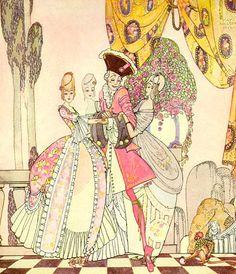 the twelve dancing princess kay neilsen illustrations   Twelve Princesses