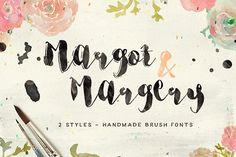 Margot & Margery by KlapauciusCo on @creativemarket