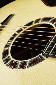 Doerr guitar heading to Healdsburg - The Acoustic Guitar Forum Guitar Parts, Music Guitar, Ukulele, Archtop Guitar, Acoustic Guitars, Guitar Inlay, Classical Acoustic Guitar, Instruments, Guitar Building
