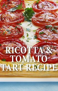 Michael Symon taught Michael Strahan how to make a delicious brunch meal of a Ricotta & Tomato Tart Recipe on The Chew, with optional bacon on top. http://www.recapo.com/the-chew/the-chew-recipes/chew-ricotta-tomato-tart-recipe-meta-health-bars-review/