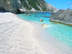 Petani Bay in Cephalonia, Ionian Sea - GREECE