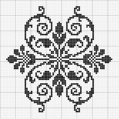 Other 08 | Free chart for cross-stitch, filet crochet | gancedo.eu