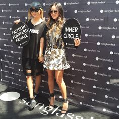 With my Sister Dani at the Sunglass Hut Event in Cape town. Jacket : http://rstyle.me/~377n1 , Skirt : http://rstyle.me/n/ti8vrbgzq7 , Heel s: http://rstyle.me/n/ti8nzbgzq7 , Sunglasses : http://rstyle.me/n/ti8phbgzq7 , http://www.songofstyle.com/2014/11/fashion-week-in-south-africa-with-sunglass-hut.html