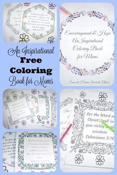 Have you tried adult coloring? You will love this encouraging adult coloring book for moms that will inspire and give you hope. As you color the pages, you will be inspired by promises from scripture.