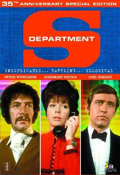 #Sixties | Department S, starring Peter Wyngarde, Rosemary Nicols, Joel Fabiani and Dennis Alaba Peters, 1969-1970