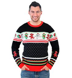 Grateful Dead Dancing Bears Ugly Christmas Sweater. . . . #pullover #pulloveroutfit #pulloversweaters #sweaters #sweatersformen #winterclothing #winterfashion #christmasgifts #christmassweaters #giftsforhim