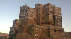 Perched atop a rock pinnacle at the famous Wadi Dhahr Valley, some 15 km away from the capita city of Sana, Yemen, is Dar al-Hajar, better known as the Imam's Rock Palace. It is an iconic symbol of Yemen, whose picture you can find on postcards and magazines to bills and water bottles.
