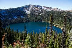 Hidden Lake, Sawtooth National Recreation Area, Stanley, Idaho
