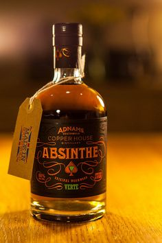 Adnams Absinthe Verte by Greg Kingston, via Flickr  Absinthe was ban uplift in 2007, but with reduce Thujone.