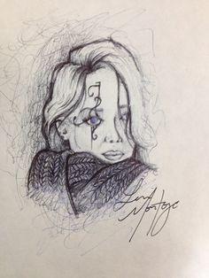Sketchbook  Fun ink pen doodle