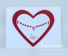 So Inking Sweet – My Stampin' Up! Blog Be My Valentine, Stampin Up, Sweet, Cards, Blog, Image, Blogging, Maps, Playing Cards