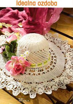 Edivana Croche: Chapéu Branco