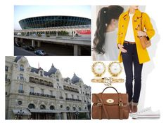 """""""Arriving at Nice Airport and driving to Hôtel de Paris in Monte-Carlo"""" by marywindsor ❤ liked on Polyvore featuring pinkage, Tiffany & Co., Sonia by Sonia Rykiel, Converse, Mulberry, women's clothing, women, female, woman and misses"""