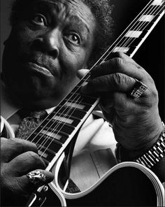 B.B. King by Marco Glaviano