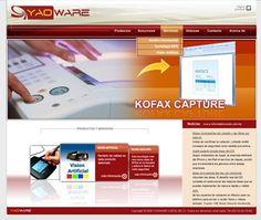 YaoWare. Sitio que brinda soluciones para la digitalización y la gestión de documentos; así como canal de distribución de escáneres de marca Canon y Fujitsu.