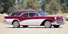 Jay Leno, George W. Bush, and 1957 Buick Caballero Estate Wagon Combine for Shocking Auction
