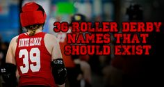 Roller Derby Names That Should Exist Derby Names, Quad Skates, Roller Derby, Time Capsule, Crime, Skating, Quad Roller Skates, Ice Skating, Crime Comics