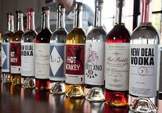 New Deal Distllery's Tom Burkleaux talks about his distillery and its start in Portland.