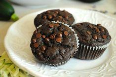 Chocolate Zucchini Muffins | Vegan Recipes from Cassie Howard