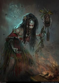witches and warlocks art | Found on firstear.cgsociety.org