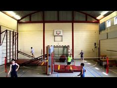 Freerunning in de gymzaal
