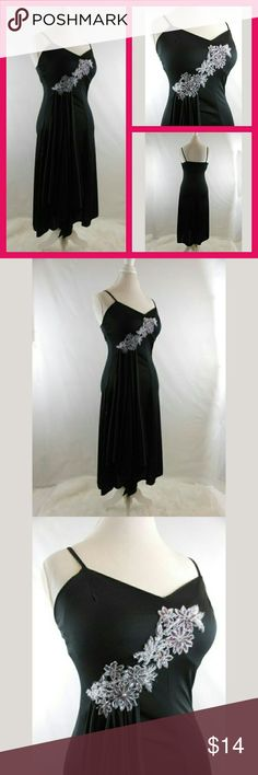 0c4cbbb6d9 Vintage Dress With Bead Accent A vintage dress with a beautiful beaded  accent piece. I