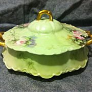 SALE Haviland Limoges covered vegetable circa 1910 ...