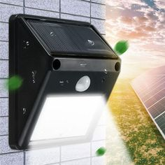 It doesn't get any better than this! 12 LED Waterproof... :-) http://www.sustainthefuture.us/products/12-led-waterproof-ip65-solar-powered-wireless-pir-motion-sensor-light-outdoor-garden-landscape-yard-lawn-security-wall-lamp?utm_campaign=social_autopilot&utm_source=pin&utm_medium=pin