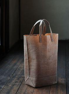 Les sacs en coton ciré de Kazumi Takigawa - Plumetis Magazine