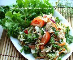 Thaise salade met kip en nog wat ยำมั่วล้างตู้เย็น อร่อยเหลือเชื่อ