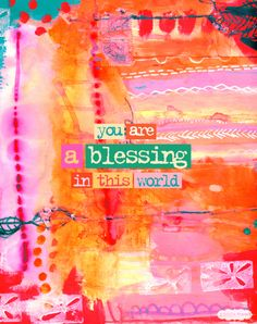 you are a blessing in this world. #truebeauty