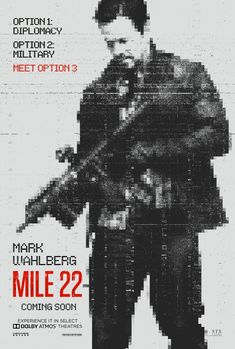 First Poster for Spy-Thriller 'Mile - Starring Mark Wahlberg John Malkovich Lauren Cohan Ronda Rousey and Iko Uwais - Directed by Peter Berg ('Deepwater Horizon' 'Lone Survivor') Imdb Movies, 2018 Movies, Top Movies, Movies Free, Best Netflix Movies 2017, Rent Movies, Prime Movies, Movies Box, Latest Movies