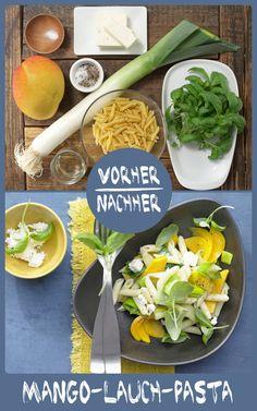 http://eatsmarter.de/rezepte/mango-lauch-pasta Warum nicht auch mal Pasta mit Lauch und Mango kombinieren. So lecker, können wir Euch sagen.