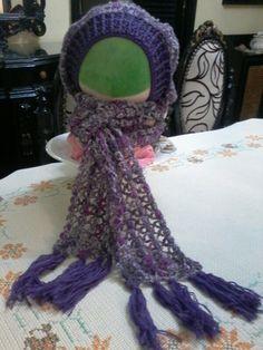 Woolen scarf & turban