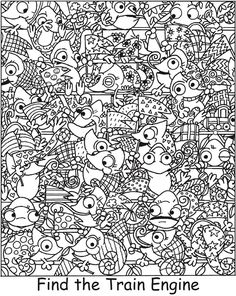 Welcome to Dover Publications Hidden Picture Games, Hidden Picture Puzzles, Hidden Words, Puzzles For Toddlers, Hidden Pictures, Maths Puzzles, School Worksheets, Brain Teasers, Coloring Book Pages