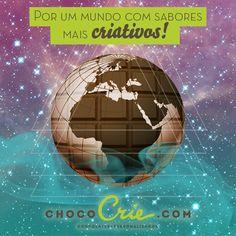 Feito para E-Dialog comunicação. Cliente ChocoCrie #facebookmarketing #chocolate #graphicdesign #designgrafico #art #hipster #earth