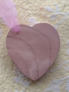 A personal favorite from my Etsy shop https://www.etsy.com/listing/265253093/aromatic-cedar-heart