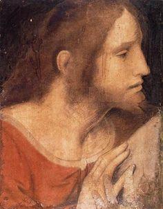 Head of St. James the Less - Leonardo da Vinci