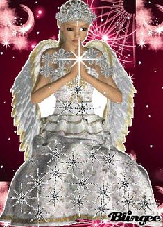 Found on Bing from blingee.com Angels Beauty, Angel Pictures, Beautiful Gifts, Pixies, Christmas Angels, Girl Cartoon, Love And Light, 2000s, Fantasy Art