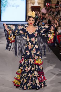 Pepa Garrido - We Love Flamenco 2018 Image Makers, Fishtail, Dance Music, Masquerade, Couture, Formal Dresses, How To Wear, Outfits, Andalucia