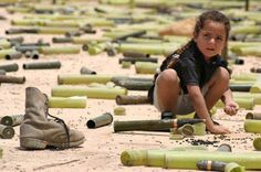 we send are son, daughter, fathers, mothers to war. i understand that they fight but give us a chance to grow up with them.