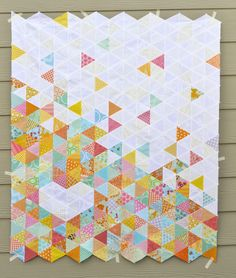 Heart Quilt Tutorial (with examples of different layouts and colours) | Must Love Quilts