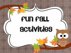 Fall activity downloads