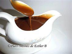 Les plats cuisinés de Esther B: Sauce au caramel écossais