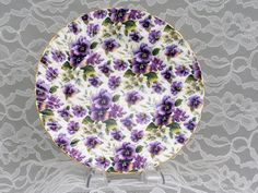 Image detail for -china teaware heirloom english china pansy chintz collection prev next ...