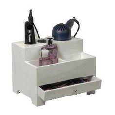 Curling iron, flat iron, hair dryer organizer
